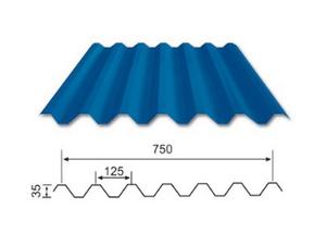YX35-125-750(V125) 彩钢瓦(屋面)