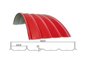 YX25-205-820 隐藏式屋面板(揄弧)