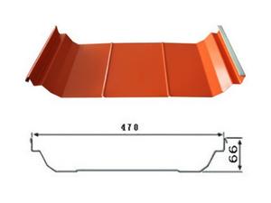 YX66-470(U-470)彩钢瓦(屋面)