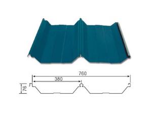 YX76-380-760 彩钢瓦(屋面)